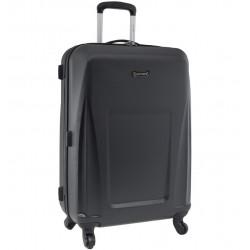 Cestovní kufr CITIES T-125/3-M ABS - černá