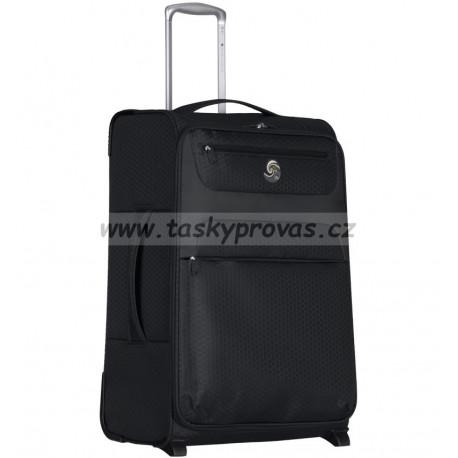 Cestovní kufr ECO-LITE T-1161/3-L - černá