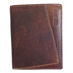 Pánská kožená peněženka Segali SG-7034 brown