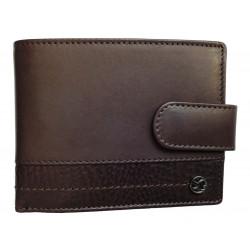 Pánská kožená peněženka Segali 951.320.005L d.brown