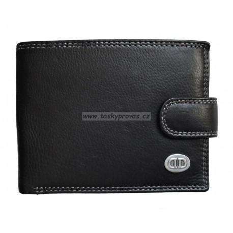 Pánská kožená peněženka DD D185-01 black