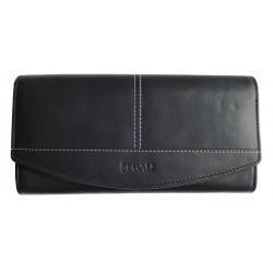 Dámská kožená peněženka Segali SG-7056 black