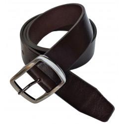 Opasek kožený Belts 46-04 hnědý