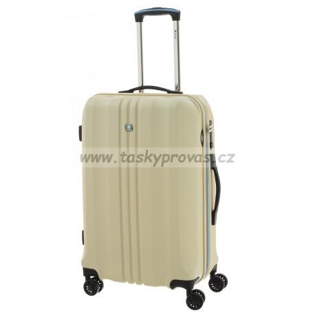 Dielle cestovní kufr 05N-60-24 smetanový