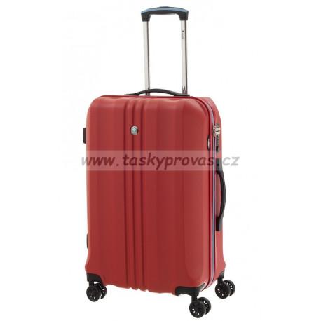 Dielle cestovní kufr 05N-60-02 červený