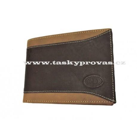 Kožená peněženka DD 608-29 hnědá