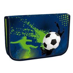 Školní penál Stil jednopatrový Football 3