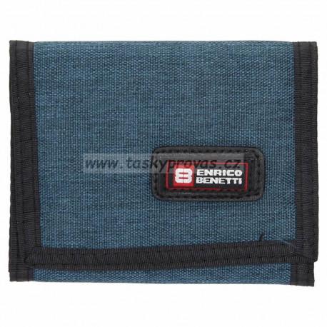 Enrico Benetti peněženka textilní 54563 jeans