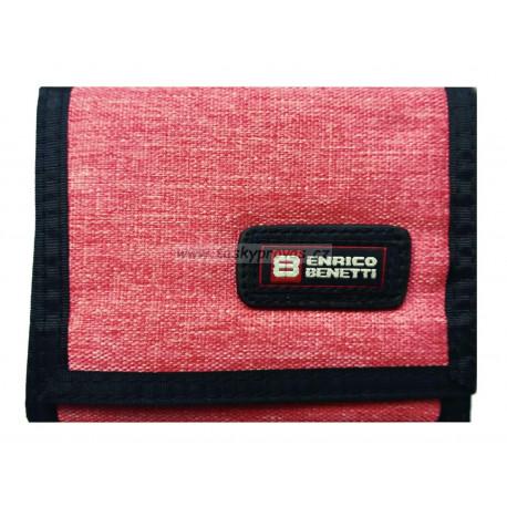 Enrico Benetti peněženka textilní 54563 pink