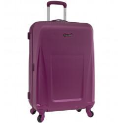 Cestovní kufr CITIES T-125/3-L ABS - fialová