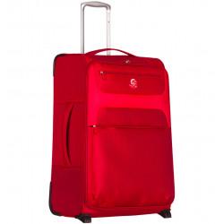 Cestovní kufr ECO-LITE T-1161/3-L - červená