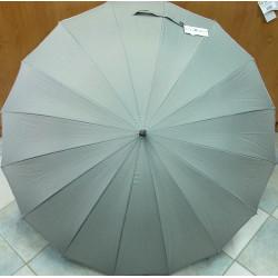 Deštník holový Blue Drop A162DL šedý