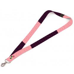 Strip (klíčenka s karabinkou) na krk Lilly 794219
