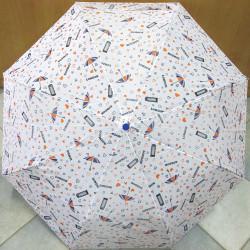 Deštník skládací automat Blue Drop A566 London