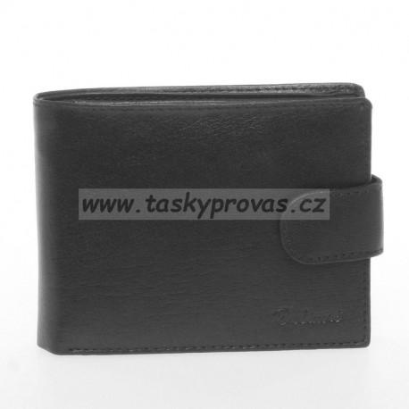 Pánská kožená peněženka Delami 3131 black
