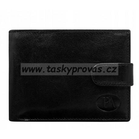 Peněženka kožená pánská Pierre Andreus PW-008L black
