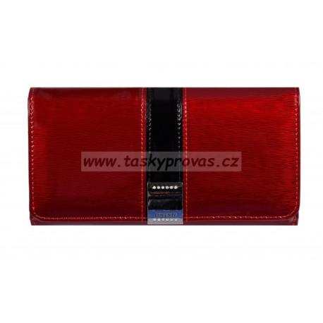 Dámská kožená peněženka Lorenti 1077-SH red