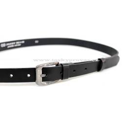 Opasek dámský kožený Penny Belts 25-172-63 černý