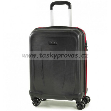 Cestovní kufr ROCK TR-0165/3-M ABS - černá