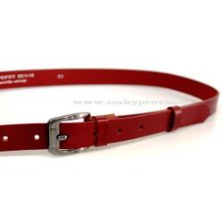 Opasek dámský kožený Penny Belts 25-172-93 červený