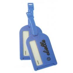 Dielle 2 ks cestovních visaček na kufr AV-01-05 sv.modrá