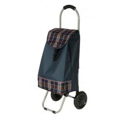 Nákupní taška na kolečkách Dielle CARR1-05 modrá
