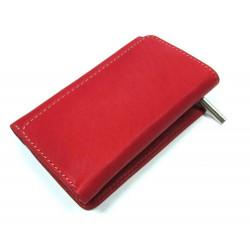 KROL 6014 červená dámská kožená peněženka