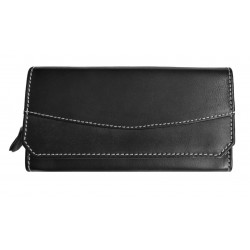 Dámská kožená peněženka Talacko 1800 černá