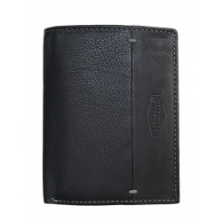 LandLeder pánská kožená peněženka 974-20 černá