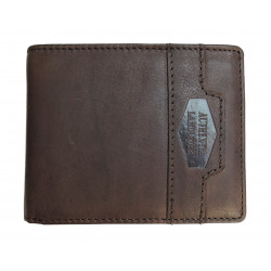 LandLeder pánská kožená peněženka 1687-25 tm.hnědá