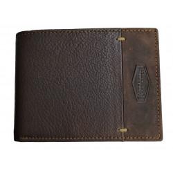 LandLeder pánská kožená peněženka 970-25 tm.hnědá