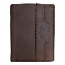 LandLeder pánská kožená peněženka 1686-25 tm.hnědá