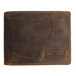LandLeder pánská kožená peněženka 1039-25 hnědá