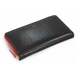 Dámská kožená peněženka Arwel 511-4722-31 černá/červená