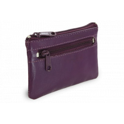 Arwel kožená klíčenka 619-0370 purple