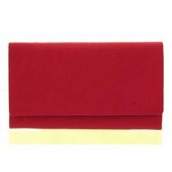 Dámská kožená peněženka Diviley 4104-M červená