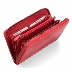 Dámská kožená peněženka Poyem ANDORA 5212 červená