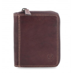 Dámská kožená peněženka Poyem ANDORA 5217 hnědá