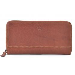 Dámská kožená peněženka Poyem ANDORA 5213 koňaková