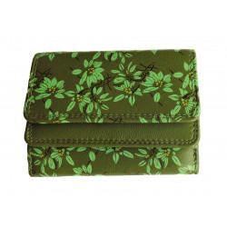 Malá kožená peněženka DD 1185-59 green