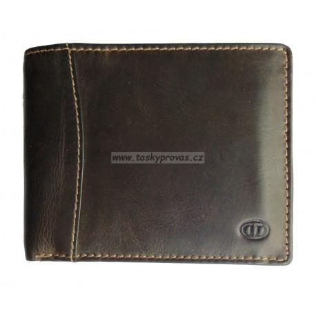 Pánská kožená peněženka DD 217-03 d.brown