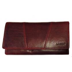 Dámská kožená luxusní peněženka Lagen PWL 388/T w.red