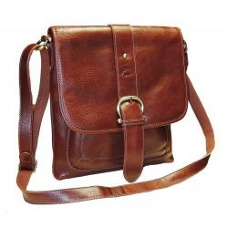 Katana kožená taška Crossbody 32901-02 hnědá