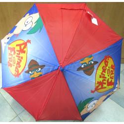 Deštník holový vystřelovací Disney Phineas 6980