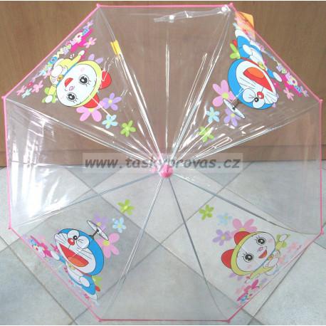 Deštník holový vystřelovací Doraemon 6460