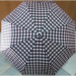 Deštník skládací automat Perletti 25657 šedorůžový