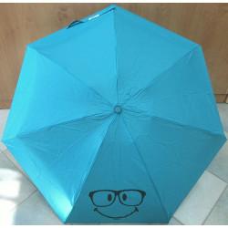 Deštník mini skládací Smiley 25172