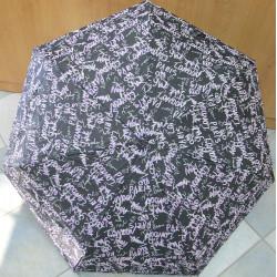 Deštník mini skládací Blue Drop A598DC fialový