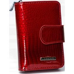 Peněženka dámská kožená Lorenti 76115-RS red