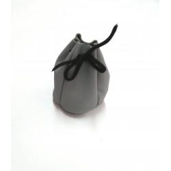 Kožený měšec Krol 9337 šedý